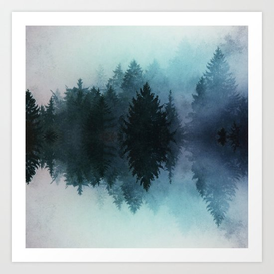 Forest Reflections II Art Print
