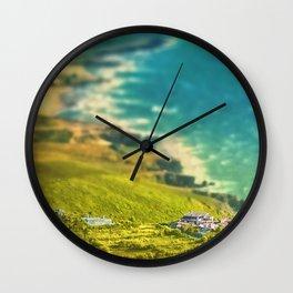 Oceanic vista Wall Clock