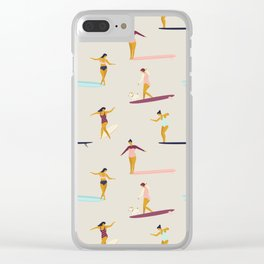 Dancers of the sea Clear iPhone Case