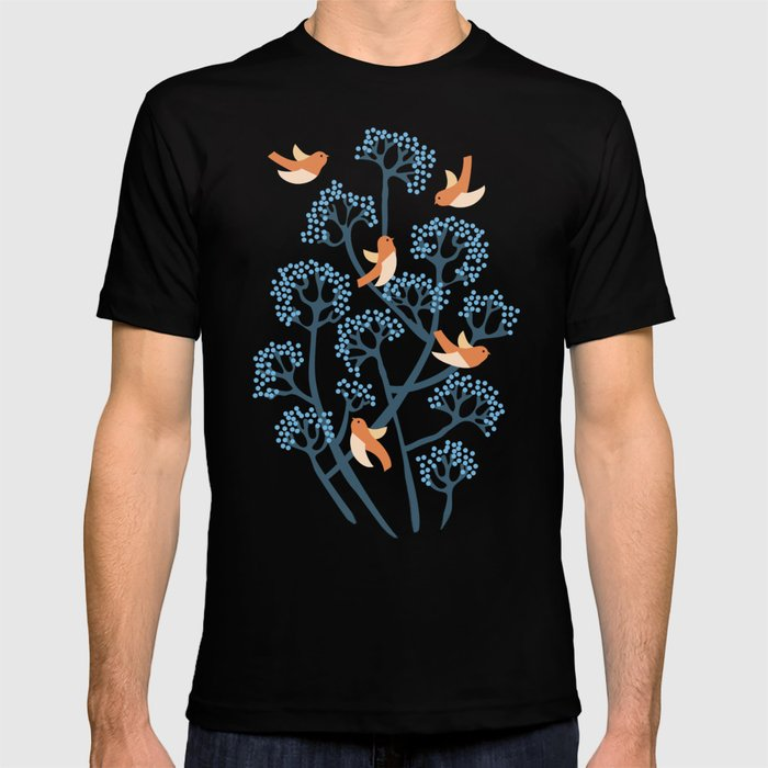 Birds Are singing T-shirt