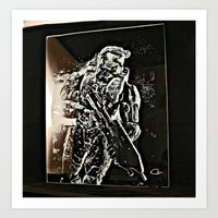 master chief Art Prints featuring Master Chief by Can Dogan