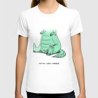 dino T-shirts featuring Dino by Schewy