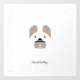 Pedigree: French Bulldog Art Print