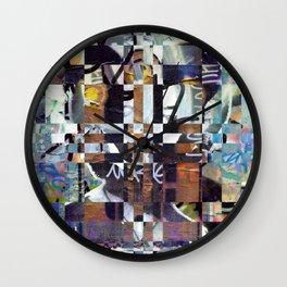 Monday 3 June 2013: Perhaps perception permeates permanence perfectly. Wall Clock