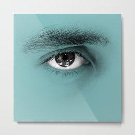 """""""Por cada minuto que cerramos los ojos perdemos sesenta segundos de luz."""" Metal Print"""