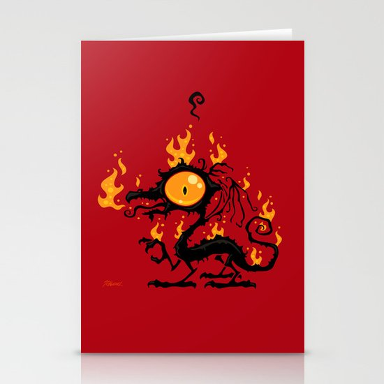 Backfire Stationery Cards