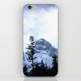 Mystic Three Sisters Mountains - Canadian Rockies iPhone Skin