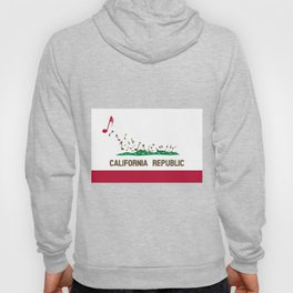 Musical Flag of the State of California Hoody