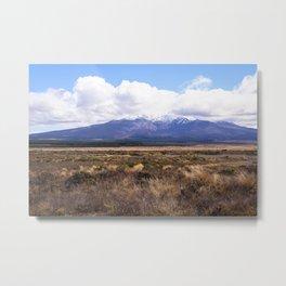 Mount Ruapehu Metal Print