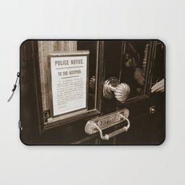 221B Baker Street Laptop Sleeve
