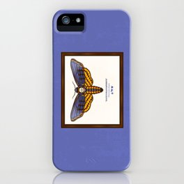 Death's Head Hawkmoth iPhone Case