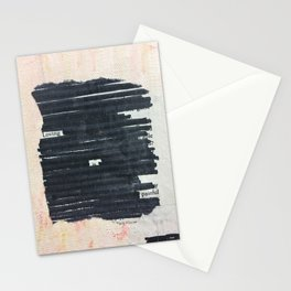 loving is painful Stationery Cards