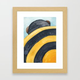 What the Buzz? Framed Art Print