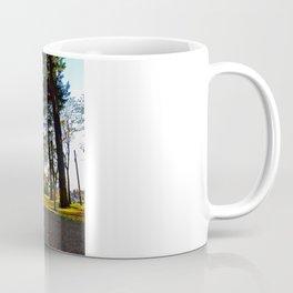 Autumn park trail Coffee Mug