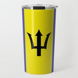 barbados flag Travel Mug