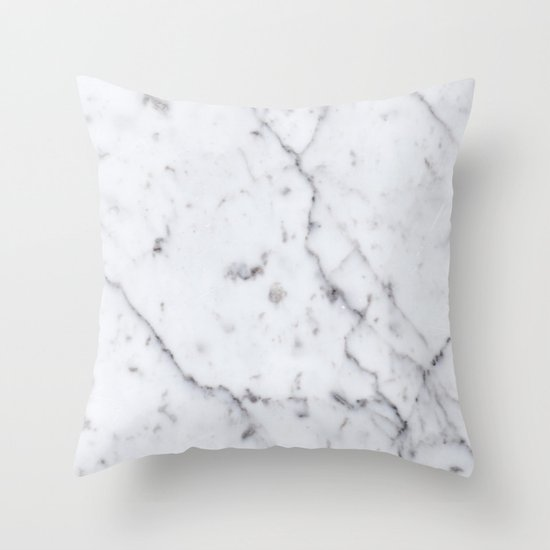 Marble Pattern Throw Pillow By Pencil Me In Society6