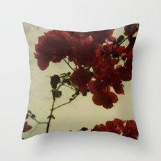 Floral Formula Throw Pillow