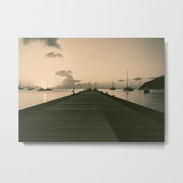 Sea Road Metal Print
