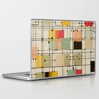 bedding Laptop & iPad Skins featuring embrace uncertainty by spinL