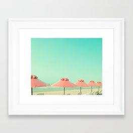 Cover Under Pink Framed Art Print