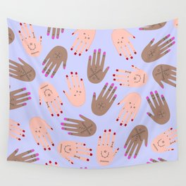 hands boucherouite Wall Tapestry