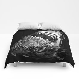Shark Painting Comforters