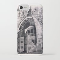 cities iPhone & iPod Cases featuring Cities Upon Cities by Katie Koop