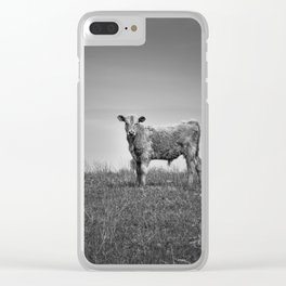 Young Calf Clear iPhone Case