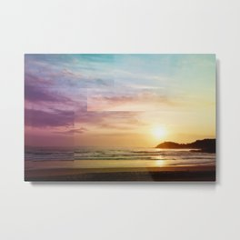 Sunrise Rainbow Metal Print
