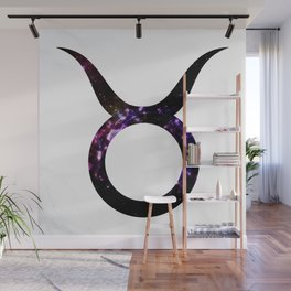 Watercolor Taurus Wall Mural