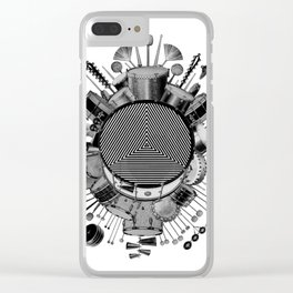Drums & Percussion Clear iPhone Case
