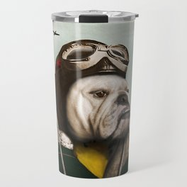 "Wing Commander, Benton ""Bulldog"" Bailey of the RAF Travel Mug"