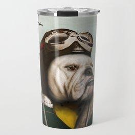 "Wing Commander, Benton ""Bulldog"" Bailey of the RAF Travel Mug"