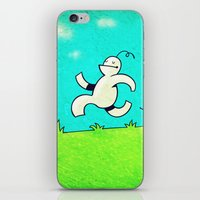 running iPhone & iPod Skins featuring Running... by MaComiX