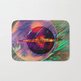 Galaxy 11:11- Sacred Geometry Art- Fractal Art Bath Mat
