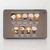 science iPad Cases featuring science by Alapapaju