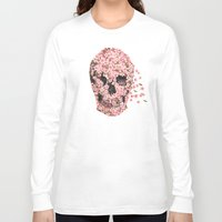 threadless Long Sleeve T-shirts featuring A Beautiful Death  by Terry Fan