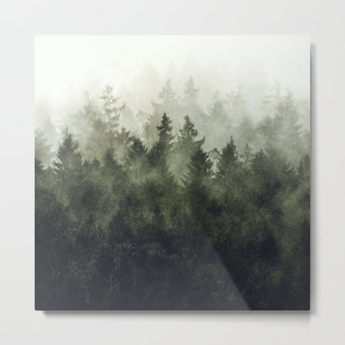The Heart Of My Heart // Green Mountain Edit Metal Print
