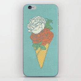 Rose ice cream iPhone Skin