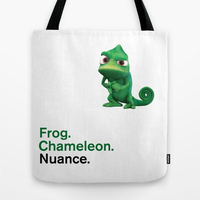 Nuance - Tangled - White Tote Bag