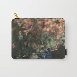 Pierre-Auguste Renoir - Gladioli In A Vase Carry-All Pouch