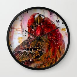 House Finch Wall Clock