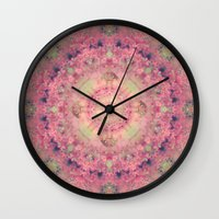 marie antoinette Wall Clocks featuring Marie Antoinette by Sandra Arduini