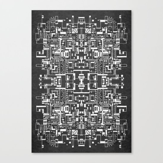 Sprawl 200113 Canvas Print