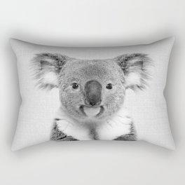 Koala 2 - Black & White Rectangular Pillow