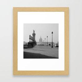 INVALIDES Framed Art Print