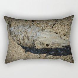 Alligator Gar Rectangular Pillow