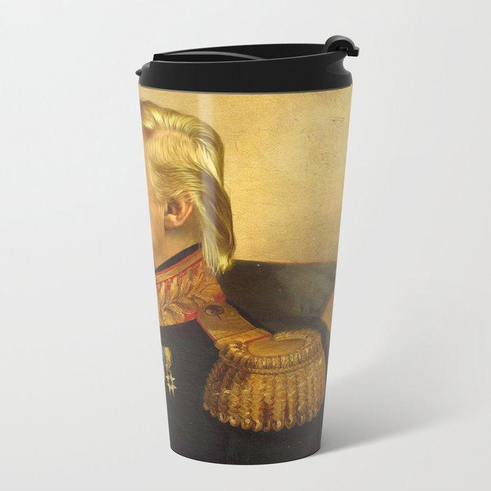 Donald Trump - replaceface Metal Travel Mug
