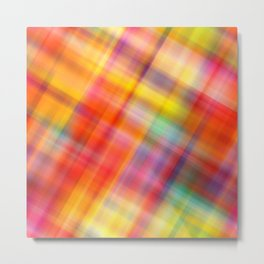 Colorful Design Metal Print