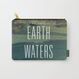 Earth//Waters Carry-All Pouch